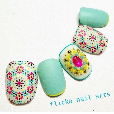 なつかしの の画像 茨城県水戸市プライベートネイルサロン flicka Nail Arts
