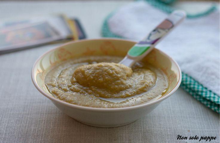 La crema di lenticchie decorticate e patate, dal sapore delicato.