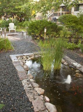 17 best images about garden pathways on pinterest for Garden pond gravel
