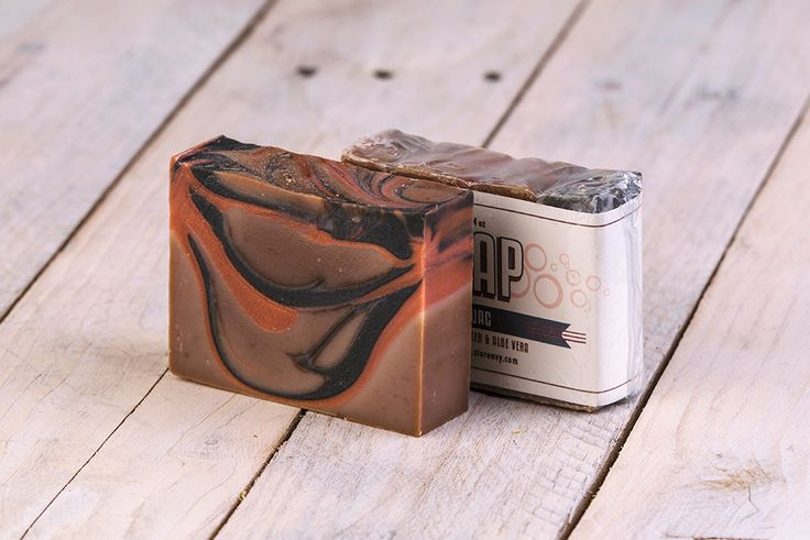 Kerouac Soap | Patchouli Soap | Mahogany Soap | Cold Process Soap | Soap | Bar Soap | Handmade Soap | Homemade Soap | Artisan Soap