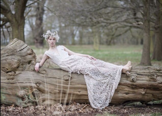Dress by Rita Colson 'Woodland Bride' Bridal inspired collection and photo shoot #fashion #bridal #couture #bespoke #ethicalfashion #RichmondPark #ritacolsoninspirations #ritacolson #style