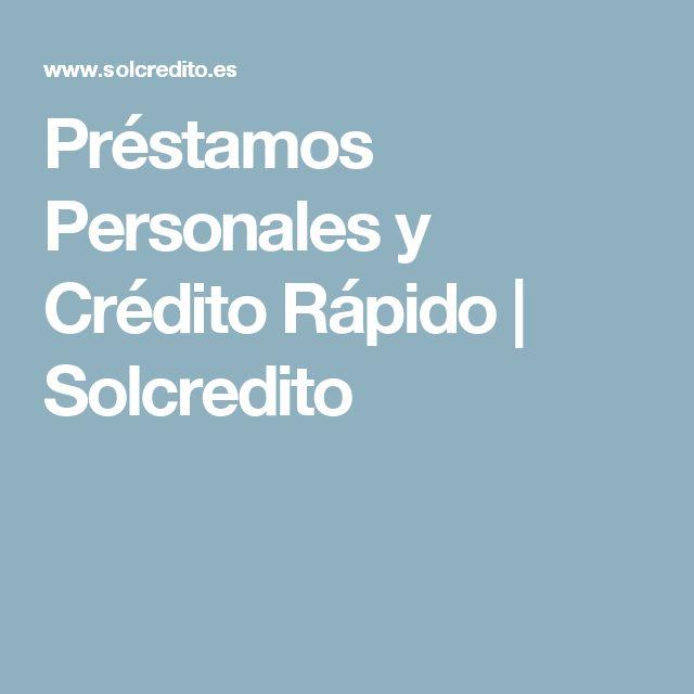 Préstamos Personales y Crédito Rápido | Solcredito