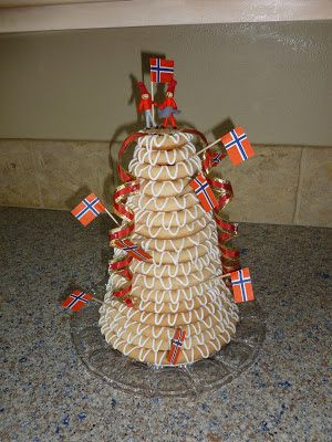 How to Make a Kransekake, Traditional Cake from Norway
