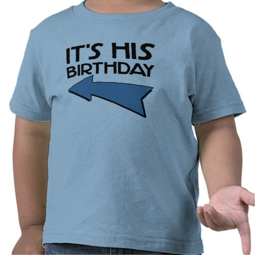 >>>Hello          IT'S HIS BIRTHDAY with Arrow Pointing RIGHT T Shirt           IT'S HIS BIRTHDAY with Arrow Pointing RIGHT T Shirt lowest price for you. In addition you can compare price with another store and read helpful reviews. BuyThis Deals          IT'S HIS BIRTHDAY with ...Cleck Hot Deals >>> http://www.zazzle.com/its_his_birthday_with_arrow_pointing_right_tshirt-235532897258708224?rf=238627982471231924&zbar=1&tc=terrest