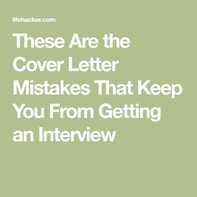 25+ Parasta Ideaa Pinterestissä Employment Cover Letter   Cover Letter  Mistakes