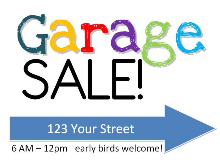 24 best images about Garage sale fundraiser on Pinterest