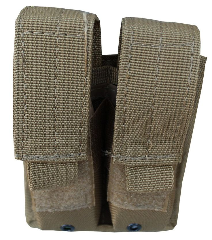 Double Mag Pouch Mag Holder with Molle Straps Hook and Loop