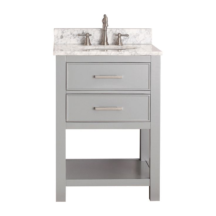24 inch bathroom vanity combo. brooks chilled gray 24 inch vanity combo with galala beige marble top avanity vanities bat bathroom