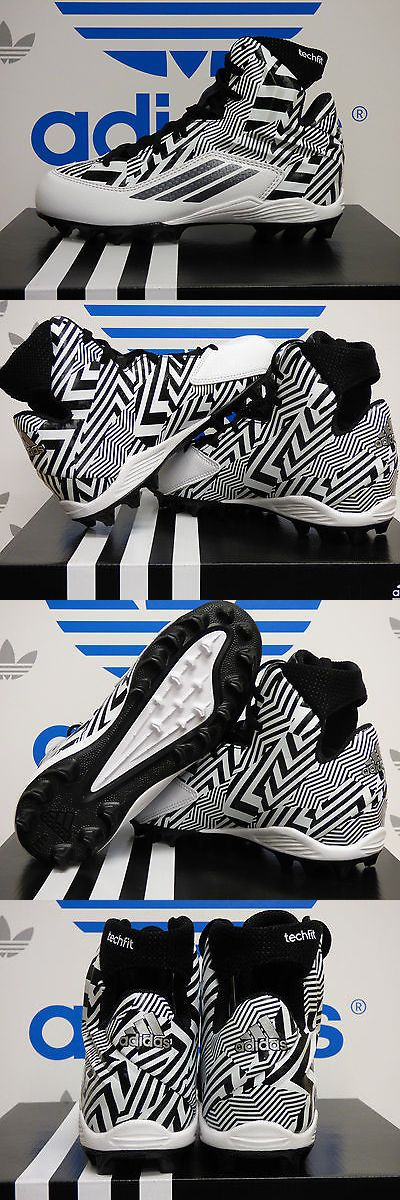 Youth 159118: New Adidas Filthyquick 2.0 Mid Youth Football Cleats - White/Black: S85607 -> BUY IT NOW ONLY: $44.79 on eBay!