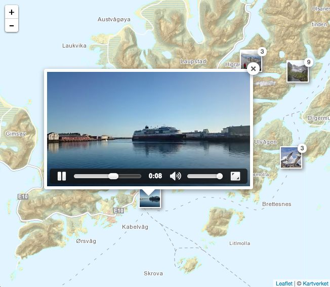 thematic mapping blog: Showing geotagged photos on a Leaflet map
