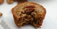 Move over pecan pie, a new king is in town! These Pecan Pie Muffins taste exactly like pie, but they're in deliciously convenient muffin-form!These moist muffins encompass everything you love about pecan pie and more - they make the perfect fall breakfast, snack, or dessert (with some