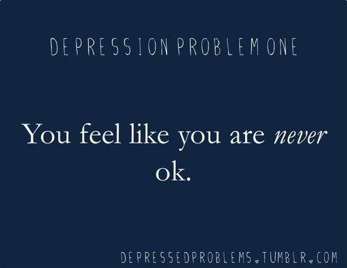 Depression Problem One