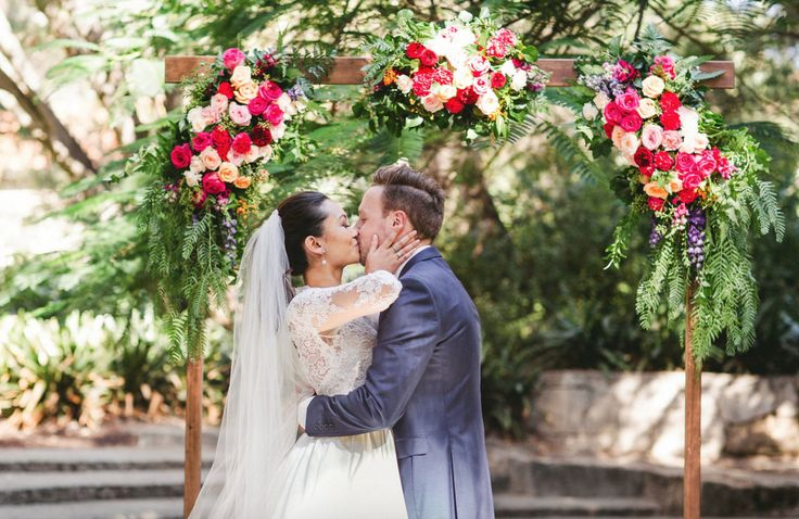 "A Spring Celebration Down Under It was all about vibrant green, glorious sunshine and a bright blue sky at Brittney and Daniel's wedding. ""We wanted our day to be relaxed and to reflect our laid-back..."
