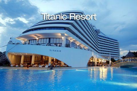 Titanic Resort Hotel  #antalya , #lara bölgesinde Bulunan Tesis Antalya Havaalanına 10 Km, Antalya merkeze 12 Km Uzaklıkta Olup, Denize sıfır mesafededir #Anitur fırsatları için bağlantıyı takip edin!