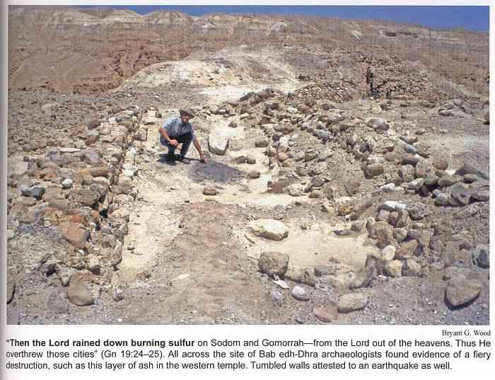 fiery destruction (Sodom and Gomorrah)