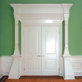 Decorative door mouldings. & 8 best Door Architrave Mouldings images on Pinterest | Door molding ...