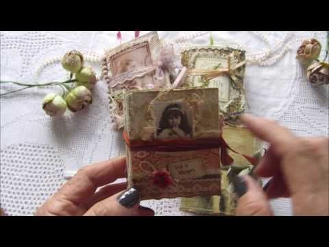 Just a Whisper...tiny journals - YouTube