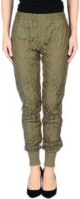 GOLD HAWK Casual pants - Shop for women's Pants - Military green Pants