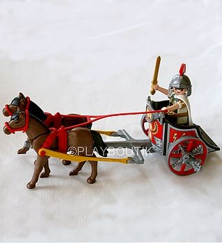 PLAYMOBIL CHAR ROMAIN - Occasion comme neuf ...http://www.playboutik.com/achat-playmobil-char-romain-409163.html
