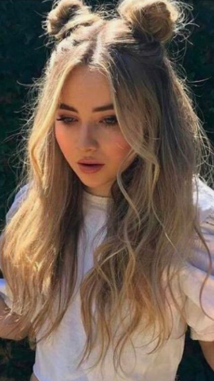 Space Buns Sabrina Carpenter Space Buns Hair Easy
