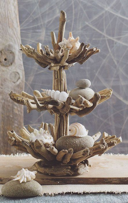 Driftwood sculptural piece