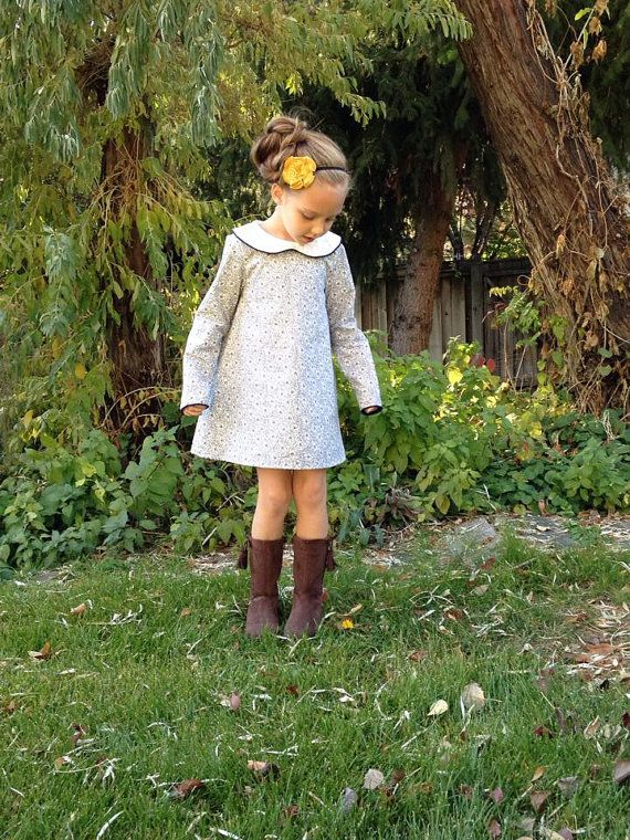 The Norah Dress and Tunic PDF Sewing by MouseHouseCreations, $9.00, Sizes 12 months to 12 Years FOR LILY