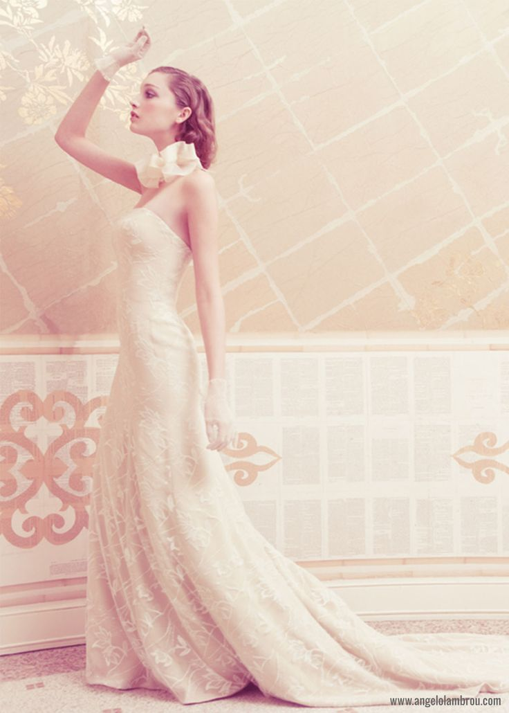 Uta ‹ New York, NY Couture Wedding Dresses & Gowns – Angelo Lambrou - Uta Wedding Gown by Angelo Lambrou