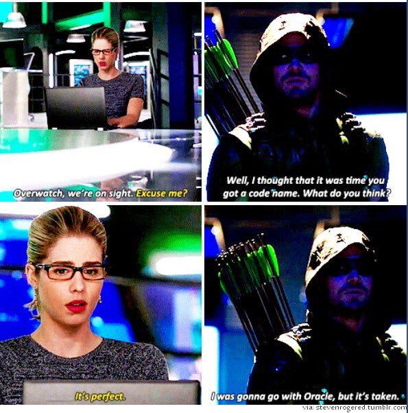 Arrow - Felicity & Oliver #4.11 #Olicity