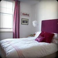 Bedroom/fuschia.