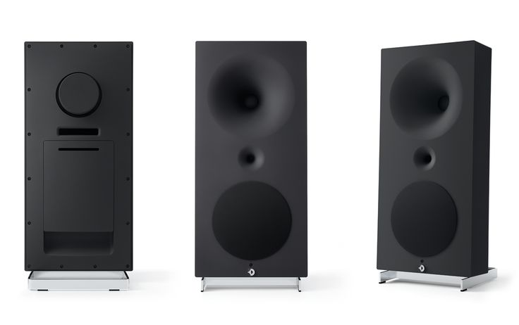 The Avantgarde Acoustics Zero 1 Pro loudspeaker at Modern Sounds in Ottawa, Ontario. Our reference digital system with the dCS Network Bridge, AudioQuest cables and Roon software.