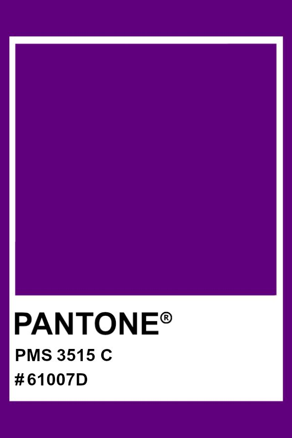 PANTONE 3515 C pantone color PMS hex  Pantone color Pantone Color  swatches