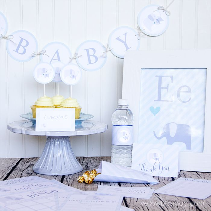 Elephant Themed Baby Shower: 234 Best Images About Baby Shower Ideas On Pinterest