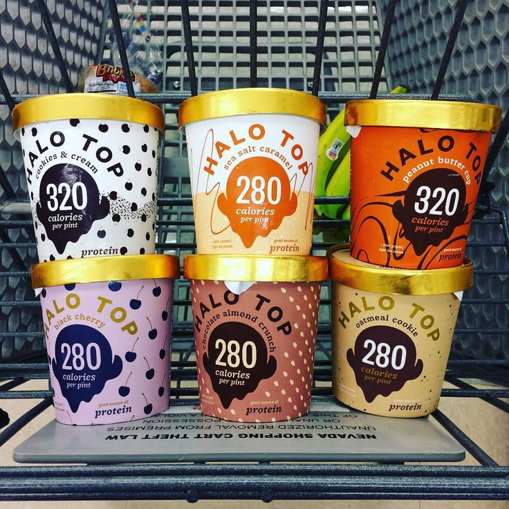 Have you tried any Halo Top new ice cream flavors? Photo by: @chrisfitlv
