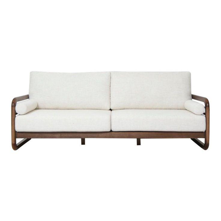 Bauhaus Modern Walnut Sofa Sofa, Outdoor sofa, Furniture