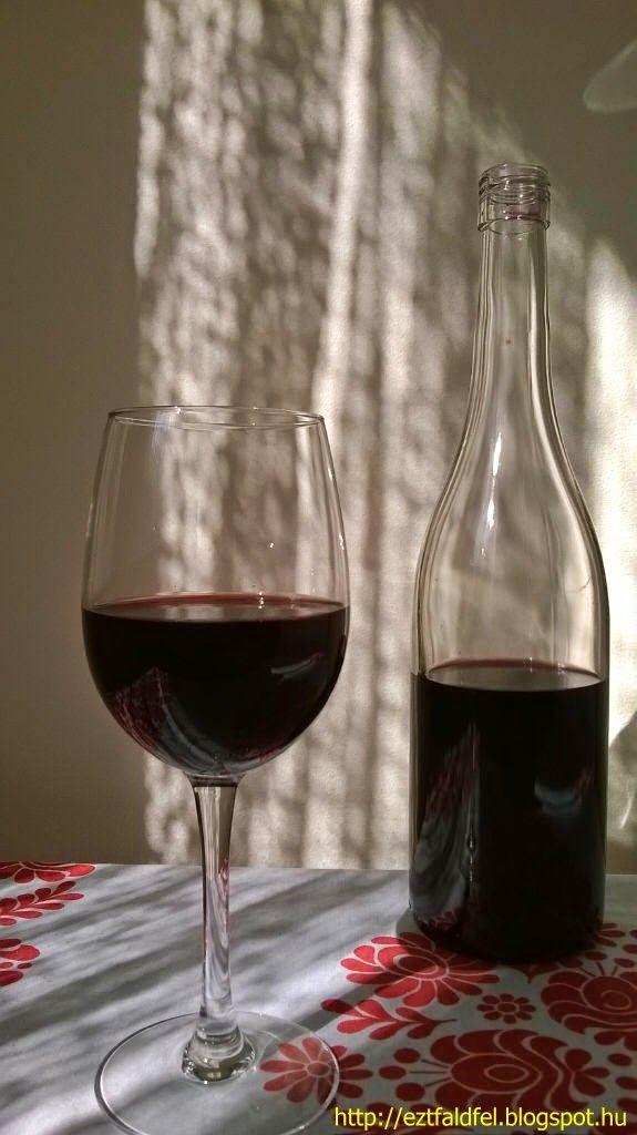 Ezt fald fel!: Vadcseresznye-sajmeggy házi bor – csemegebor