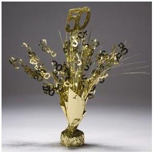 50th Anniversary Table Decoration Ideas