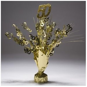 50th Anniversary Table Decoration Ideas | 50th Anniversary Decorations - Wedding Decor Ideas