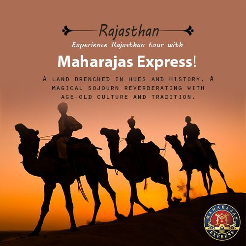 Maharajas' Express luxury train takes you to various exotic places in Rajasthan, including the amazing city of Jodhpur.