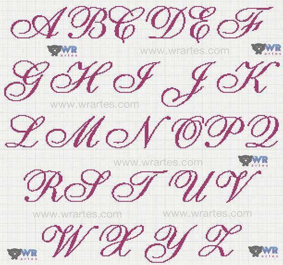 Exibindo grafico alfabeto monograma ponto cruz letra cursiva casamento toalhas (2).png