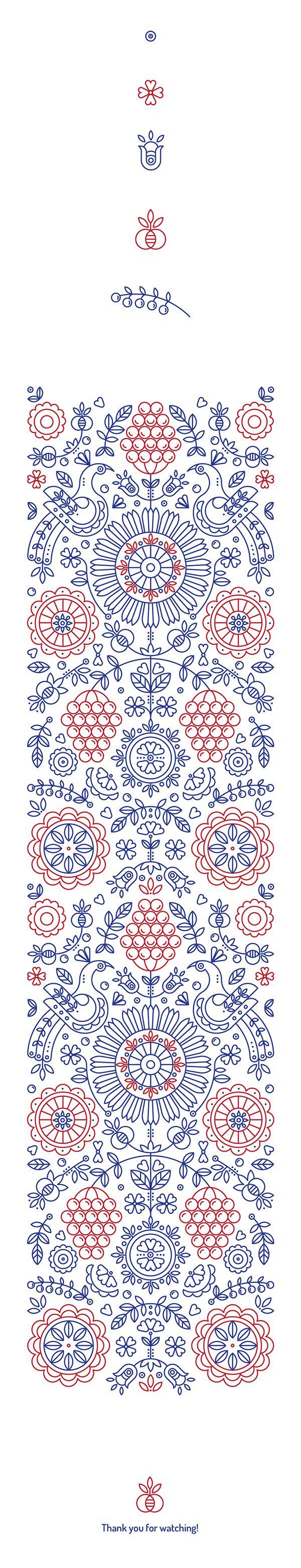 #pattern #illustration