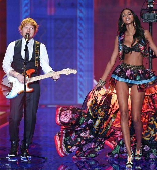 Pokaz Victoria's Secret 2014 - goście muzyczni, Ed Sheeran, fot. East News
