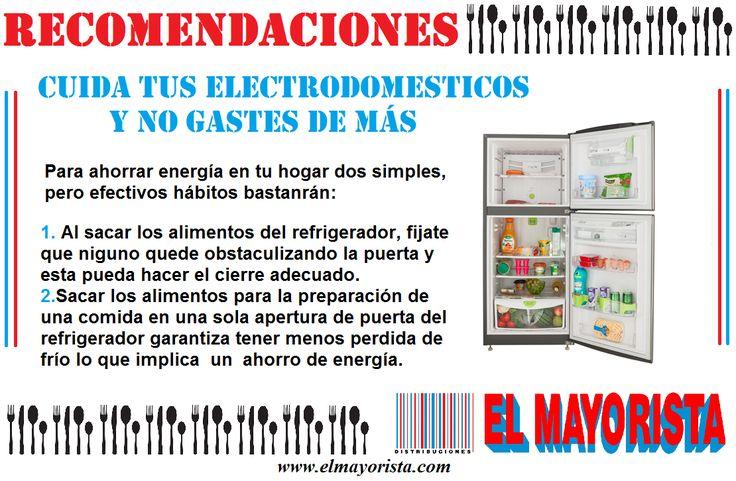 Tener claro el funcionamiento de tus electrodomesticos puede hacerte ahorrar tiempo y dinero #elmayorista #jueves #recomendaciones