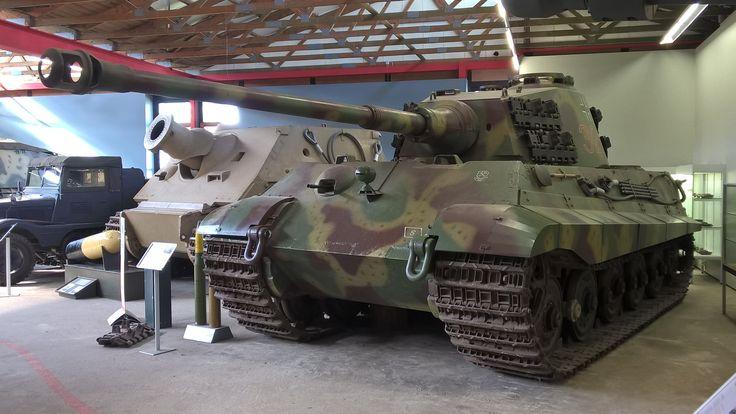 Königstiger Saksan panssarimuseo Munster