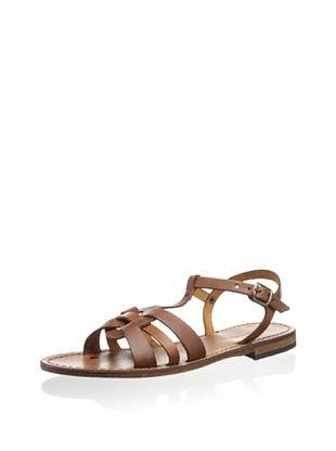 62% OFF Modern Fiction Women's T Front Sandal (Cognac)