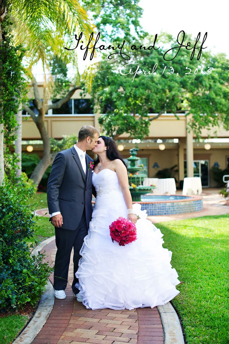 Tiffany and Jeff, Safety Harbor Resort and Spa, Dunedin Wedding Photographer