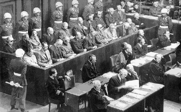 Defendants. Nuremberg Trials.