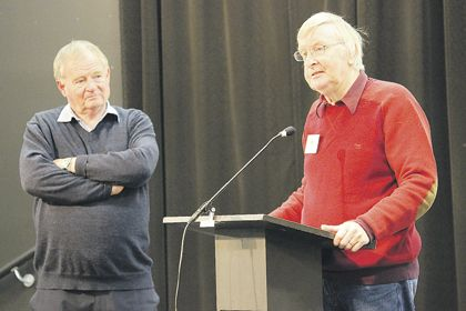 A MEETING has been held in Howick to gauge the level of interest for a Men's Shed in the community.