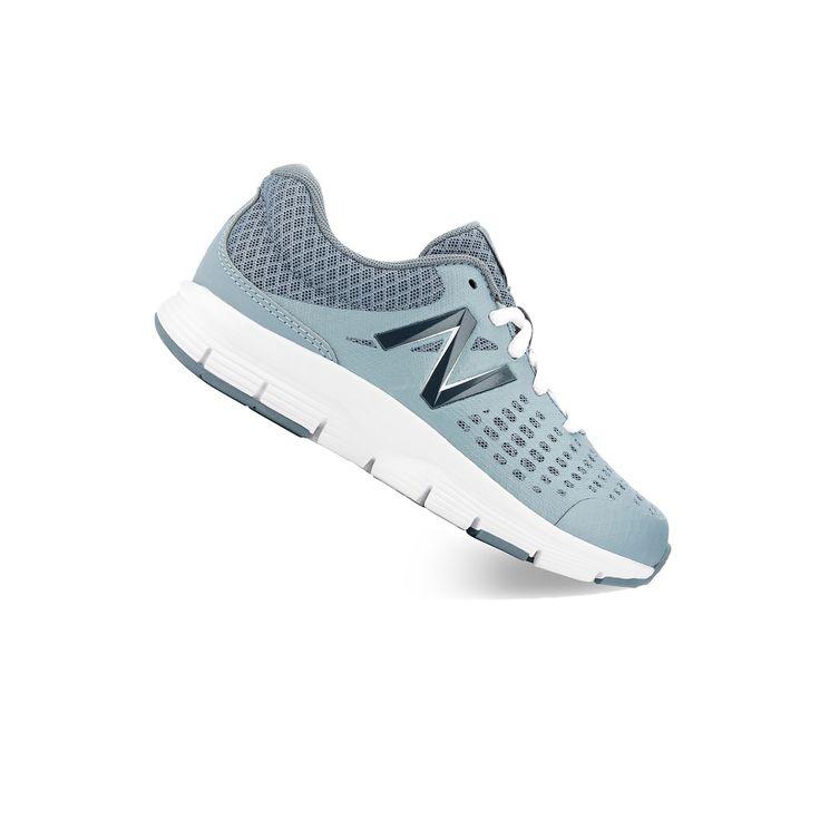 New Balance 775 Lightweight Kids' Running Shoes, Girl's, Size: 11 Wide, Med Grey