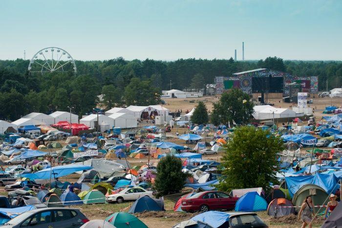 Jeszcze dwa dni do festiwalu, a już takie tłumy