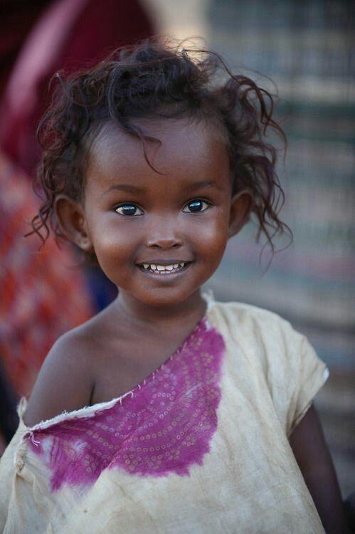 C'est surtout en Afrique que les enfants ont le sourire...Les nôtres seraient ils trop gâtes?